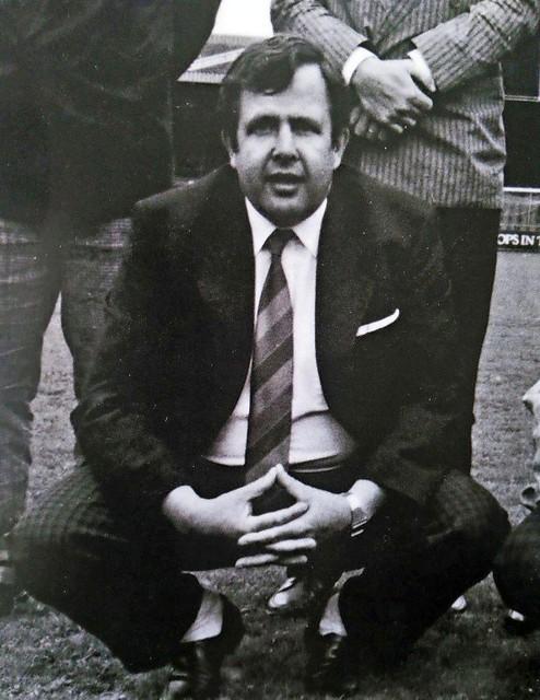 Wijnand Vermeulen in de jaren tachtig als bestuurslid van AZ.