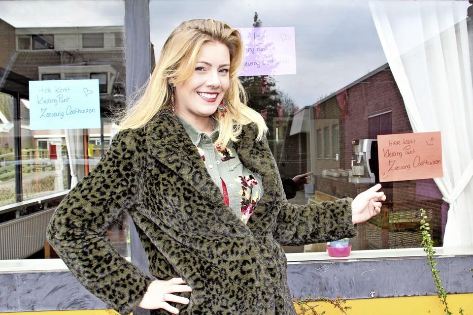 Adinda van Oorschot is blij met haar nieuwe onderkomen.