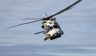 Gecrashte NH90-helikopter ligt in twee delen op de bodem