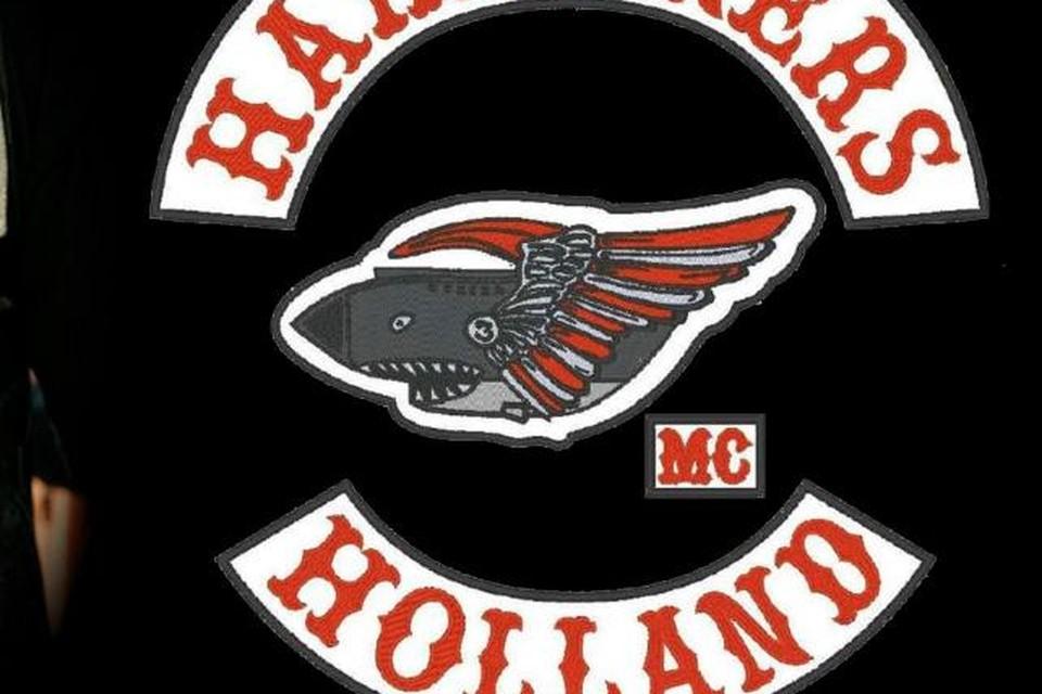 Het embleem van de MC Hardliners.