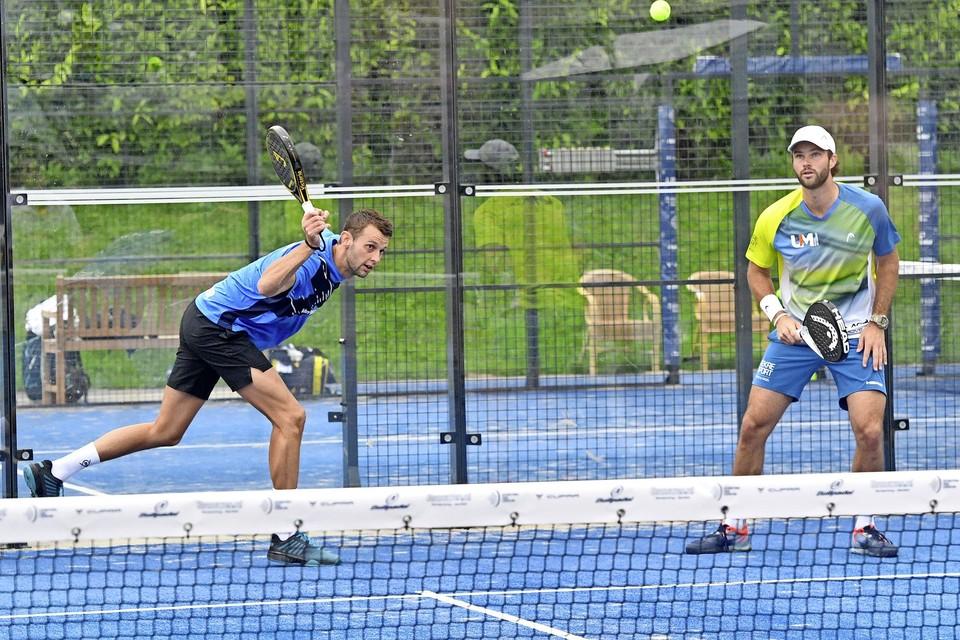 Het sterkste duo van Nederland, Bram Meijer (links) en Uriël Maarsen haalden de finale van het FIP Risetoernooi bij TPC Daalmeer.