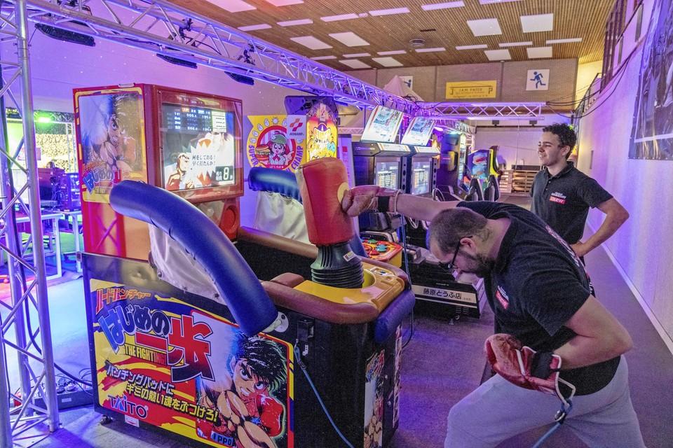 Gameday in Wieringerwerf waar het personeel ook een graantje meepikt.