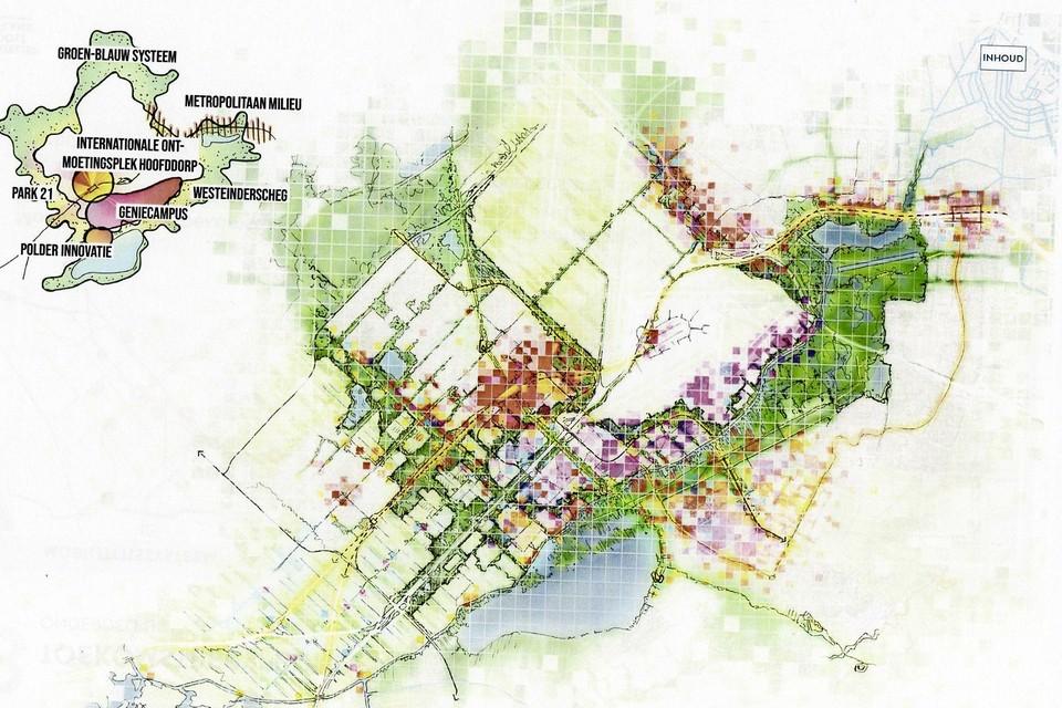 Impressie van de plannen voor Oostflank Haarlemmermeer.