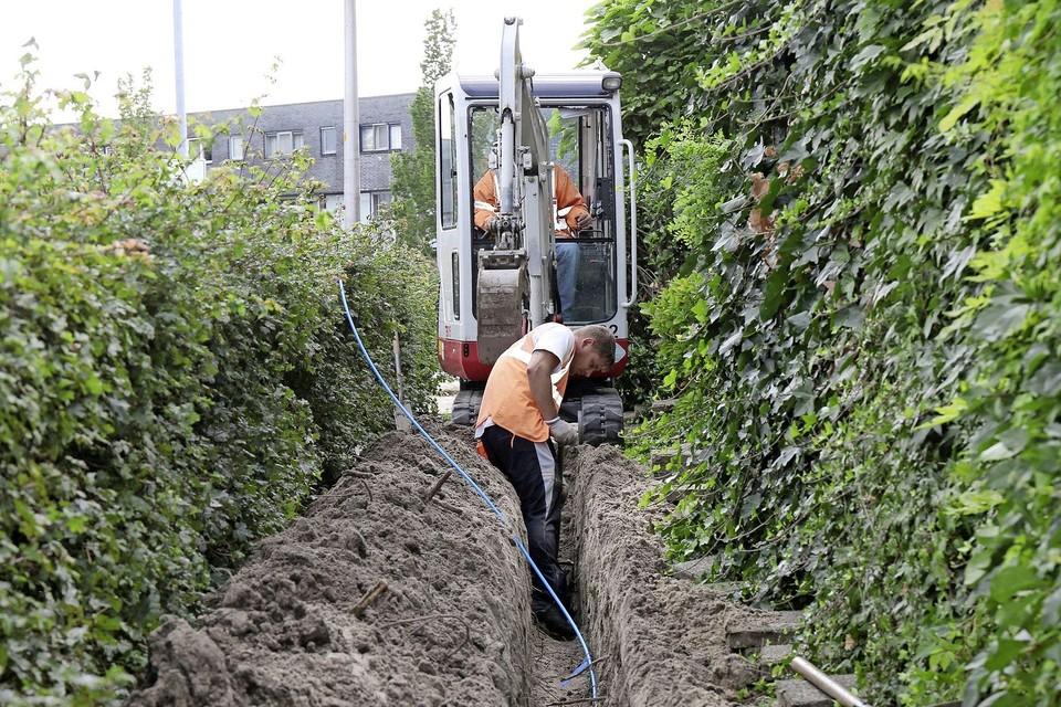 In Velserbroek is een aantal jaar geleden al een glasvezelnetwerk neergelegd voor bedrijven.