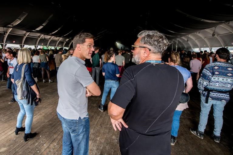 Mark Rutte blikt terug op geslaagd Lowlandsdebuut [audio]