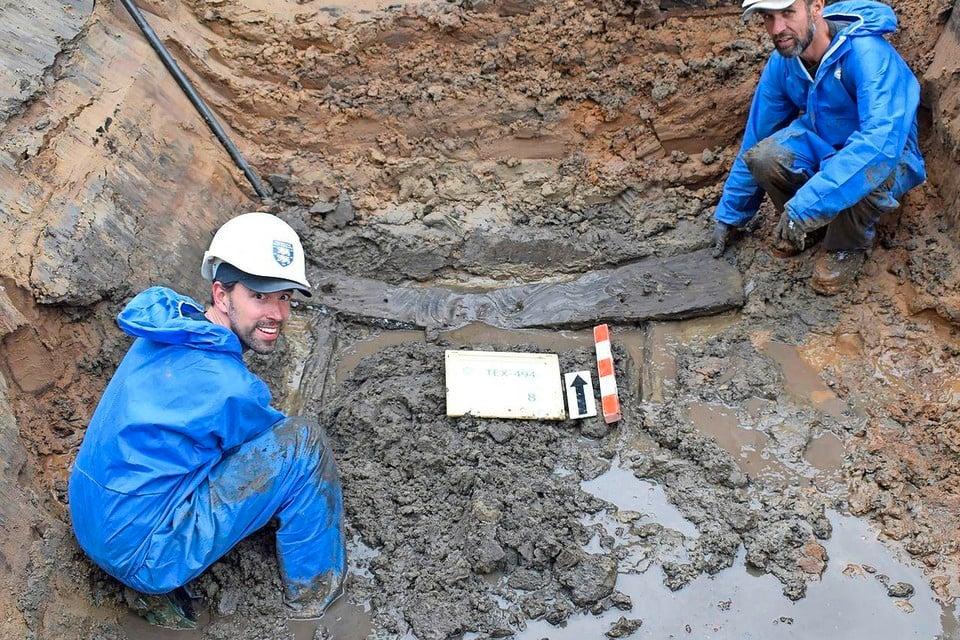 In juni 2019 werd de waterput opgegraven.