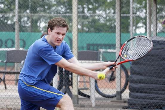 Tennistitel nabij voor zeer sterk spelend Winkel