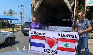 Hoornse jongerenwerker Ali Choukair brengt noodpakketten naar rampgebied Beirut