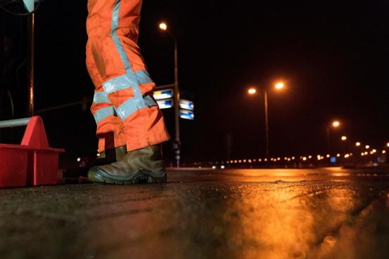 Nachtelijke verkeershinder op N246 vanaf Wormerveer; stukje tussen Ned Benedictweg en de Noorddijk afgesloten