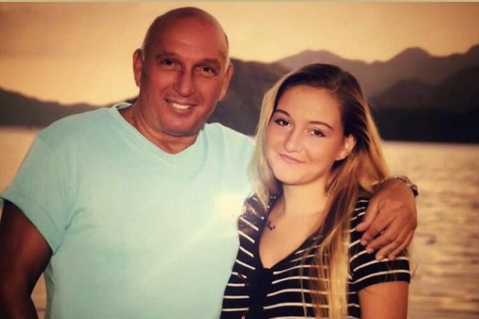 Sammy-Jo en haar vader