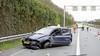 Beschonken vrouw slaat drie keer over de kop op de A1 bij Huizen en wordt aangehouden