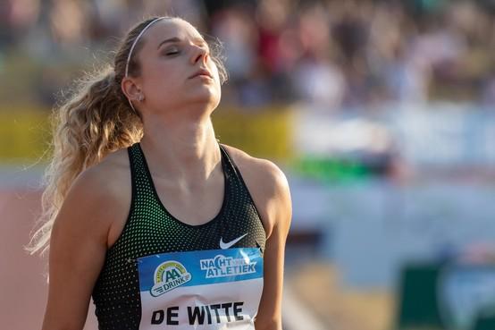 Laura de Witte heeft nu meer tijd om zich alsnog voor de Olympische Spelen te plaatsen: Een geluk bij een ongeluk