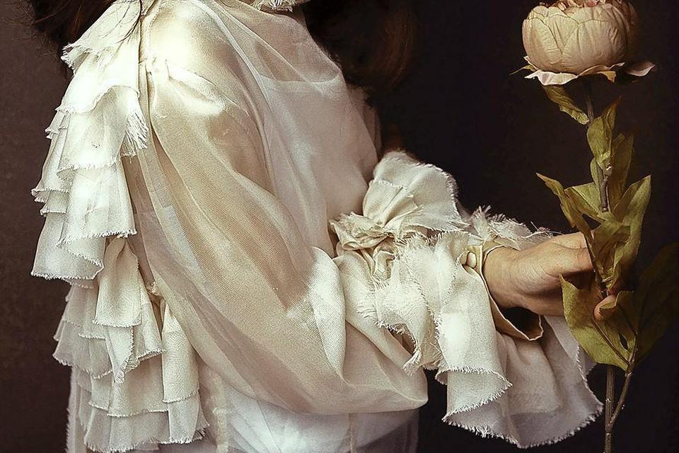Robert Leeuwerink heeft een schilderachtige stijl. Model op de foto is de toen 11-jarige (inmiddels 13) Xenia uit Voorburg.
