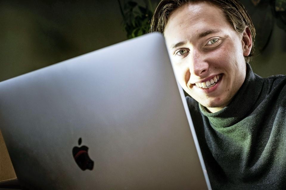 Justin Dekker wil aankoopfraude via internet voorkomen.