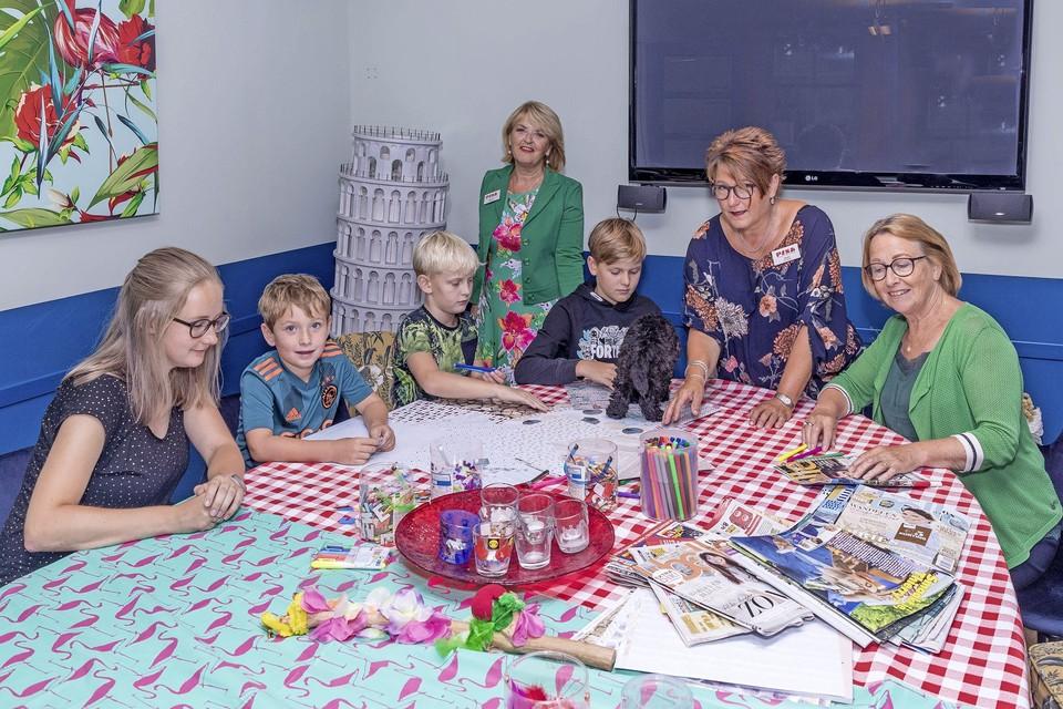 Een activiteit van inloophuis Pisa voor kinderen die te maken krijgen met kanker.