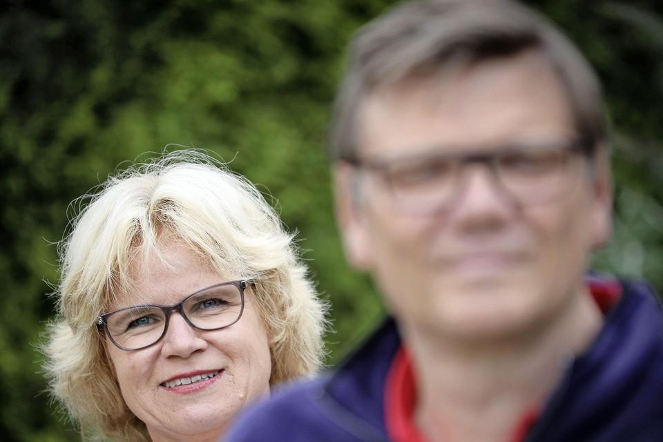 Irene van de Kamer en Frank Schoen.