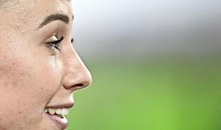 Hordeloopster Nadine Visser is een stoïcijns natuurtalent met een perfectionistische inslag. 'Ze wil iedere dag de betere versie van zichzelf zijn'