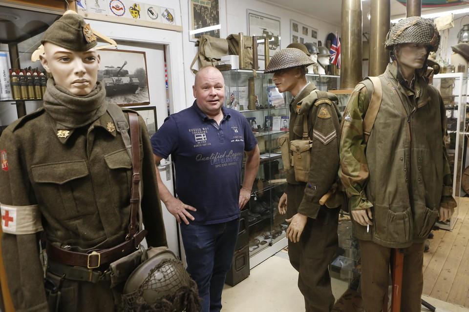 Ron Manten: ,,Het is een hobby én ik doe het voor de veteranen.''