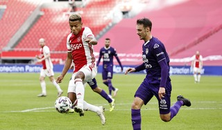 David Neres wil ook graag naar een Europese topcompetitie maar zegt geen haast te hebben: nu 'really happy' bij Ajax