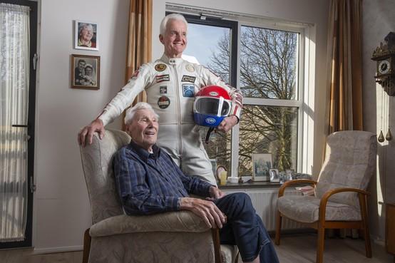 Wil Hartog won in 1977 de TT van Assen en werd een legende. Monteur Willem Steiginga zorgde dat de Suzuki van de Witte Reus liep als een zonnetje. 'Maar wat Wil die dag deed was eigenlijk onmogelijk'