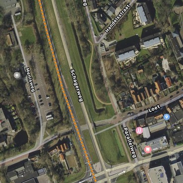 Parkeerterrein aan Menisweg in Schagen in beeld voor vijftig appartementen