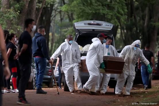 WHO noemt Zuid-Amerika nieuw epicentrum coronavirus