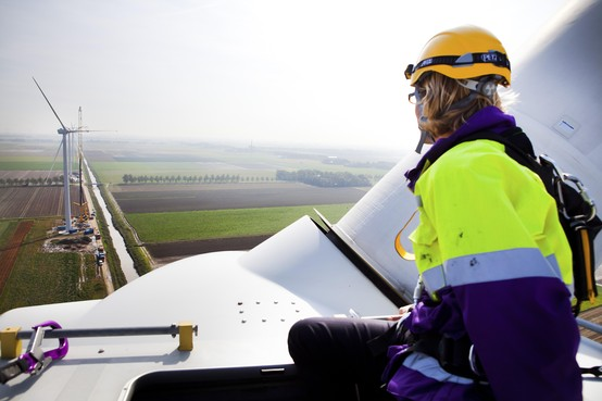 Marcel Gorter over de gevaren van werken aan en in windturbines