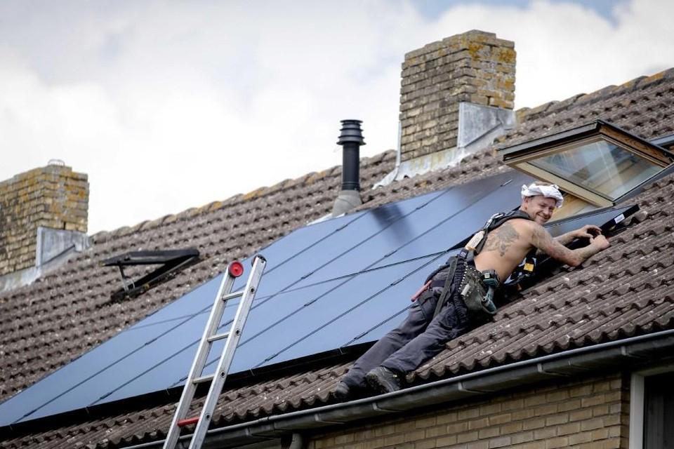 Zonnepanelen: een van de manieren om een huis duurzaam te maken.
