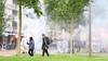 Optocht 'Defend'-groepen door Den Helder was van tevoren niet aangemeld. Desalniettemin geen aanhoudingen. 'Er was geen reden tot ingrijpen'