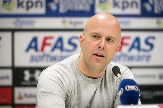 AZ in kwartfinale beker tegen NAC: het hart van trainer Arne Slot gaat er sneller van kloppen