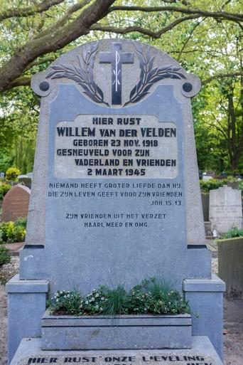 Held uit Oude Wetering na de oorlog herenigd met geliefde in graf te Hoorn