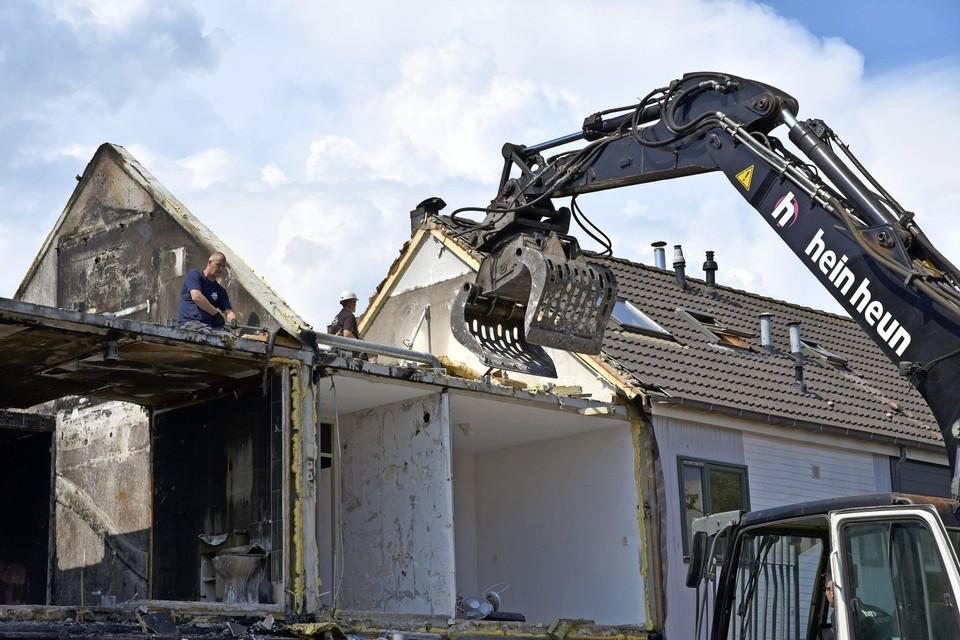 Woningen aan het Hoefblad worden afgebroken.