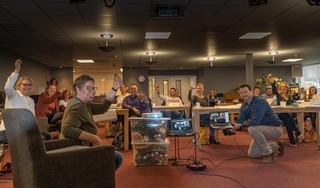 Westfriese Zorg Academy van start, 19 cursisten beginnen in Hoorn aan post-hbo studie Innoveren in zorg en welzijn met technologie: 'Toch wel even spannend, terug in de schoolbanken'