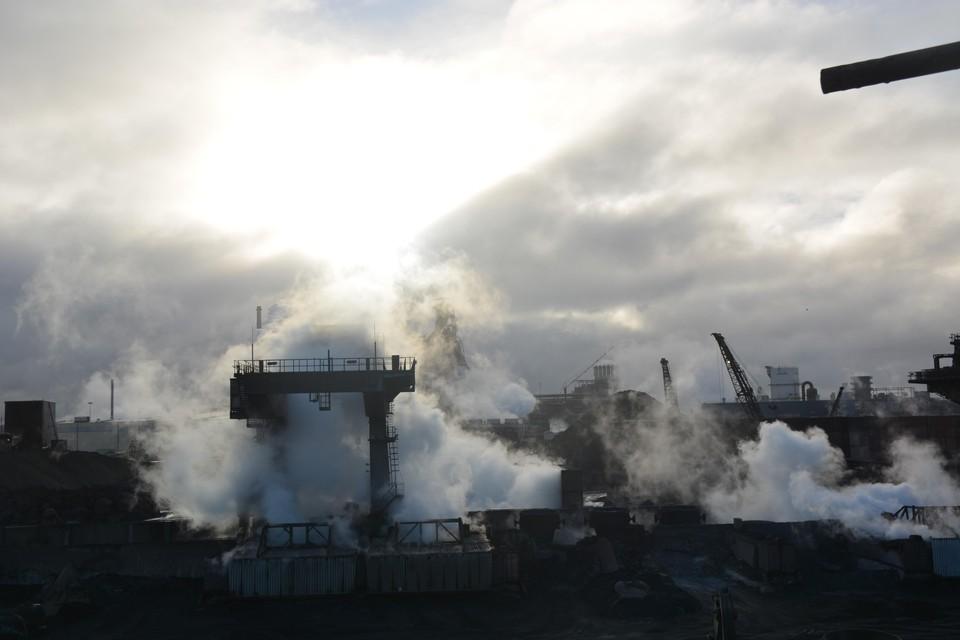 Harsco veroorzaakt stofwolken en grafietregens.