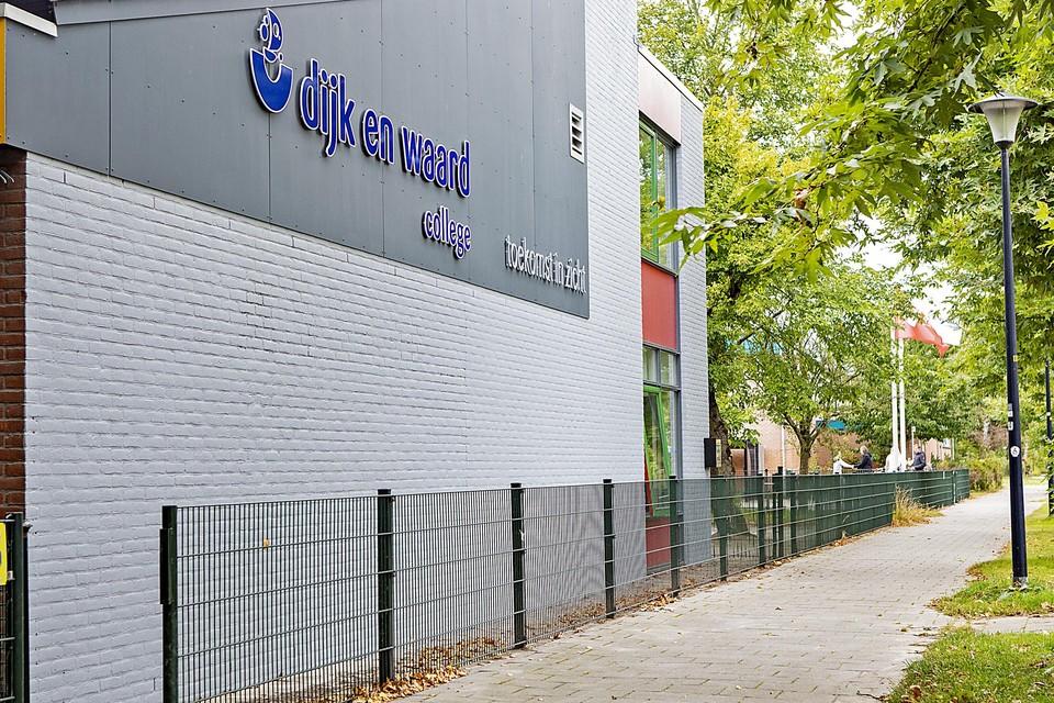Het nieuwe pand van De Spinaker VSO Dijk en Waard College.