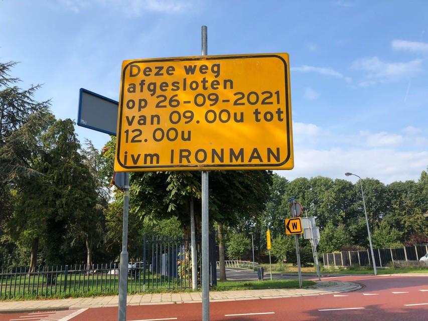 Tal van wegen in Hoorn en in de regio zijn dit weekeinde tijdelijk afgesloten (geweest) vanwege Ironman.