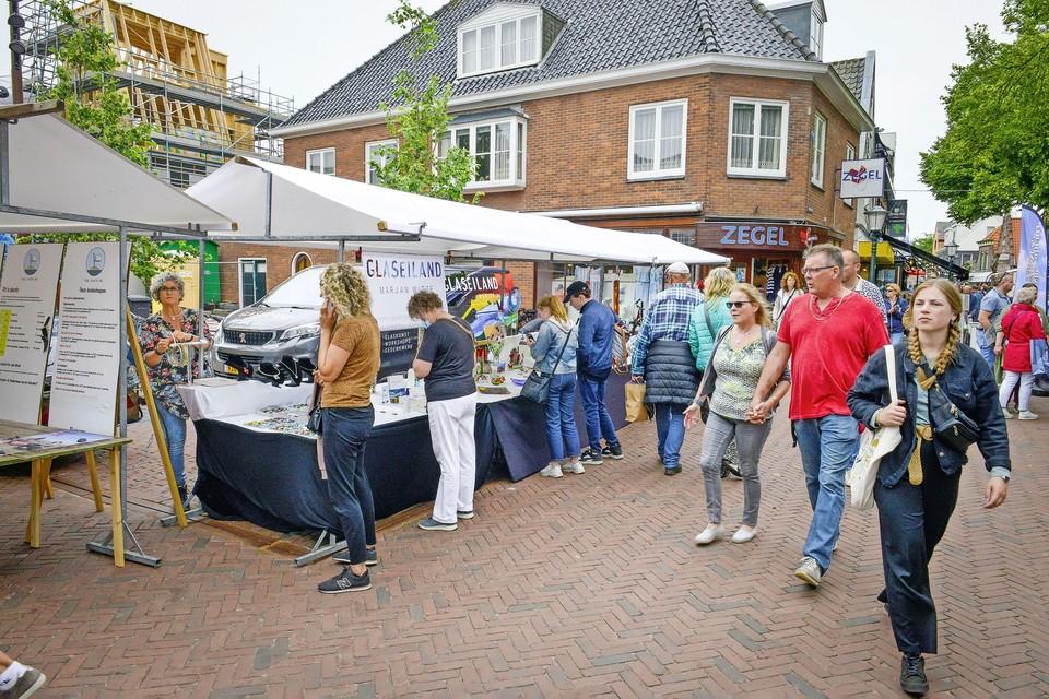 De Zomermarkt staat nu in het teken van Texelse producten.