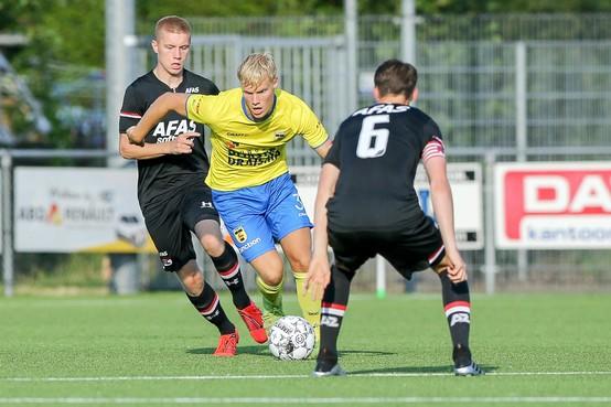 Piet Halman via jeugd De Graafschap en beloften Cambuur naar Odin'59. Meer concurrentie voorin bij Heemskerkse derdedivisieploeg