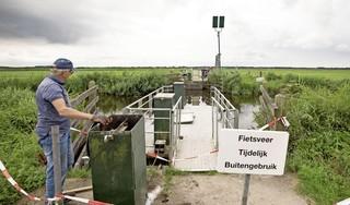 Zelfbedieningspontje Eemnes weer in gebruik na 'vandalisme': 'Fijn dat 'ie is gerepareerd'