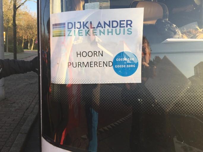 Actievoerders Dijklander Ziekenhuis Purmerend boos op raad van bestuur