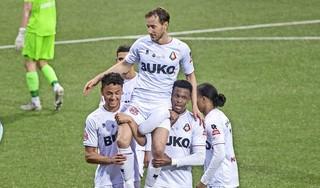 Telstar verliest van Jong Ajax bij afscheid van clublegende Frank Korpershoek [video]
