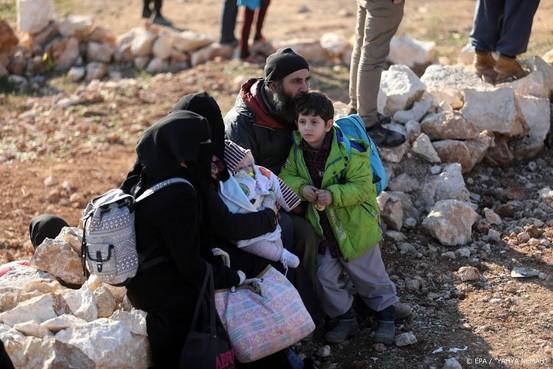 VN: 900.000 ontheemden in noordwesten van Syrië sinds december