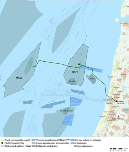 Ørsted wil aan de slag met windpark Hollandse Kust Noord