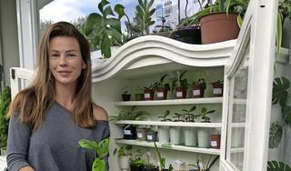 Esther uit Krommenie heeft een verborgen ruilkast voor plantenstekjes: 'Ik heb minstens 150 plantjes thuis'
