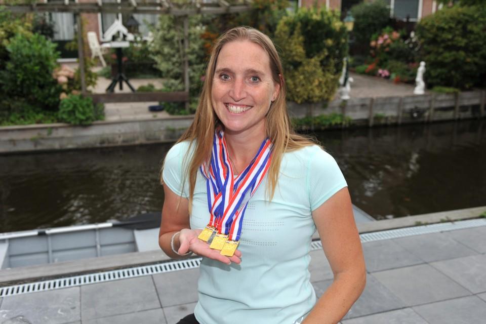 Tanja van der Plas: ,,Ik win nu wat me door die blessure als senior niet is gelukt.''