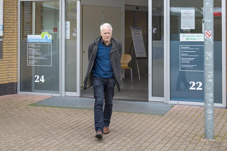 Rolf Boot zit in het corona-crisisteam van de huisartsen in Noord-Kennemerland. ,,De piek is nog lang niet bereikt.''