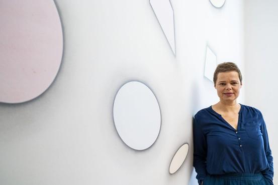 De vorm en ritme in het werk van kunstenaar Iemke van Dijk