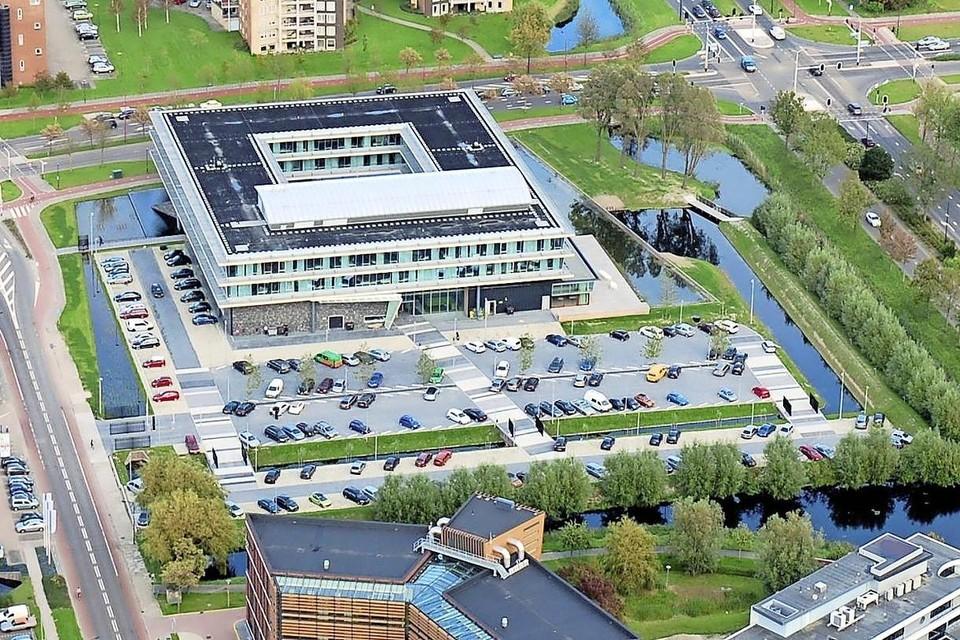 Het hoofdkantoor van het waterschap in Heerhugowaard.