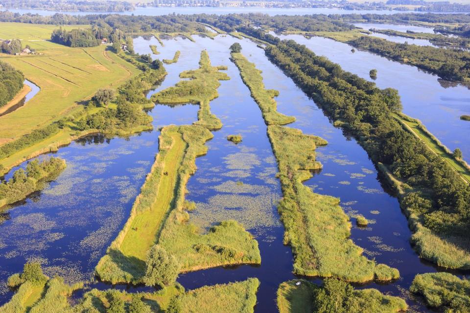 De Ankeveense plassen, een van de plekken waar de kwaliteit van het water van belang is voor kwetsbare natuur.