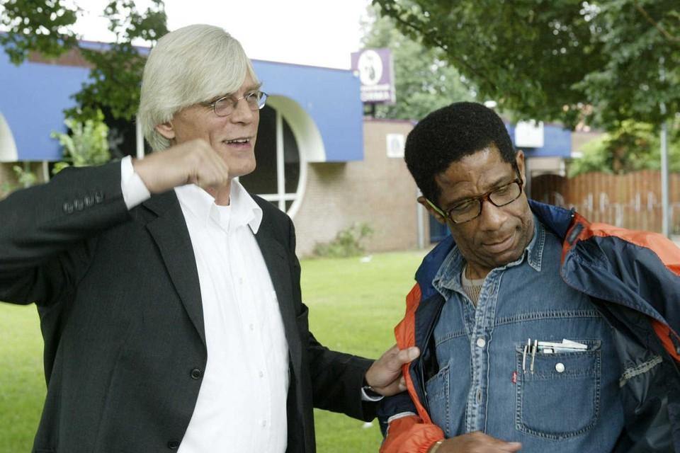 Jan de Groot (links).